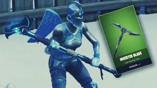 Fortnite Inverted Blade Pickaxe GAMEPLAY *NEW PICKAXE* (Fortnite Battle Royale)