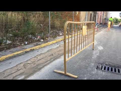 OBRAS DE ACERADO CALLE ESTEBANA SERRANO