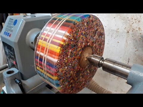 woodturning---the-pencil-donut-!!