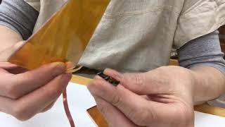 【京の里山、京北暮らし】ステンドグラスのミニランプ作りのワークショップ thumbnail