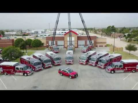 New Fleet: Odessa Fire Department Welcomes 13 New Vehicles