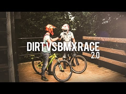 DIRT vs BMX RACE 2.0 | Tristan Botteram - Djeronimo Slots