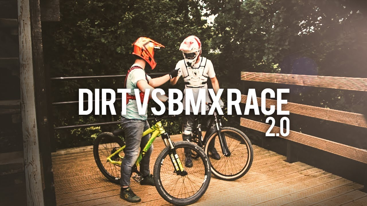 DIRT vs BMX RACE 2.0 | Tristan Botteram - Djeronimo Slots Video