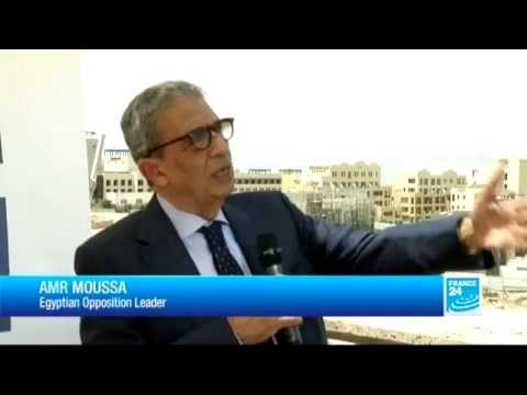 Amr Moussa speaks about the tension in Egypt between the government and opposition
