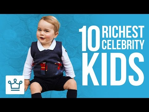 Top 10 Richest Celebrity Kids In The World