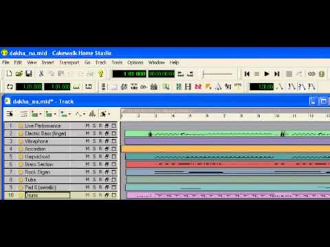 Dekha Na Tha (Instrumental) - (Alamgir Haq) Javed Moghal