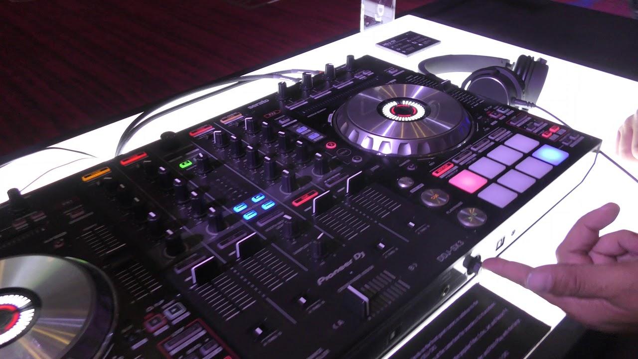 The DJ Expo 2018: Pioneer DJ DDJ-SX3 Serato Controller Walkthrough