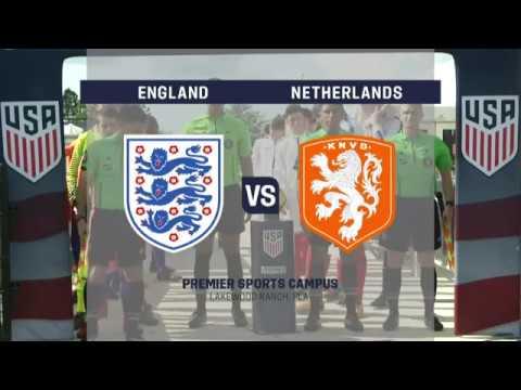 2017 U-17 Men's Nike International Friendlies: Netherlands vs. England
