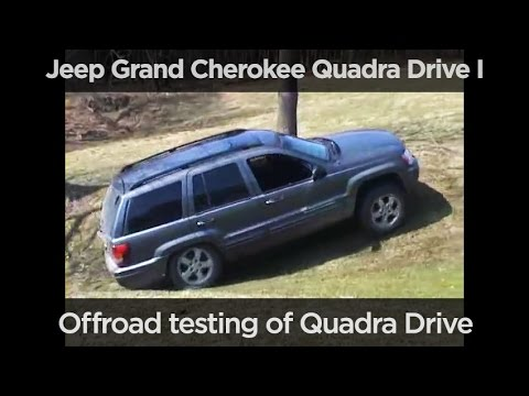 offroad test of jeep grand cherokee quadra drive i youtube. Black Bedroom Furniture Sets. Home Design Ideas