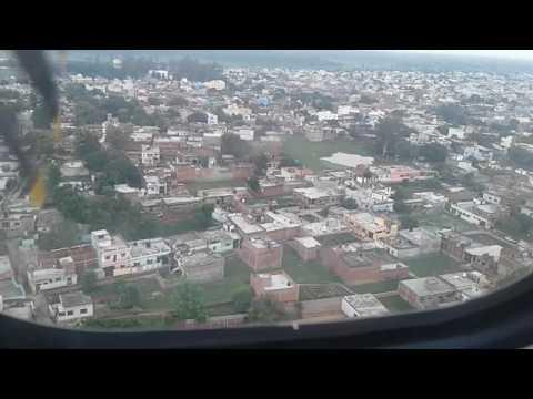 Airindia 9809 landing in gorakhpur airport