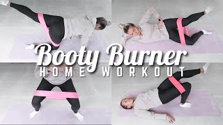 20 MIN AT HOME (LOW IMPACT) BOOTY BURNER WORKOUT ?? BOOTY BAND OR NO EQUIPMENT OPTION ★ JAZ HAND