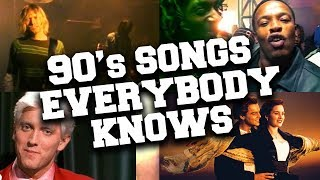 Best 90's Songs Everybody Knows The Lyrics To