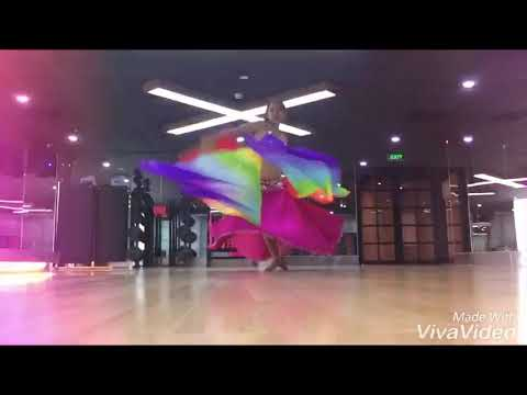Daoha bellydnce  fanveil in california fitness &yoga centre