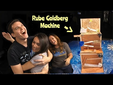 We Built A Rube Goldberg Machine!