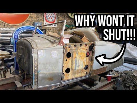 How To Fix A Rusty Ford Model A Door Part 1