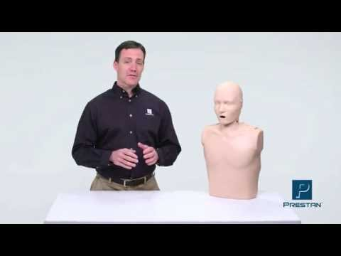 Prestan Adult CPR Manikins with Rate Monitor