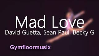 39;Mad Love39; by David Guetta Sean Paul Becky G  Gymnastic Floor Music