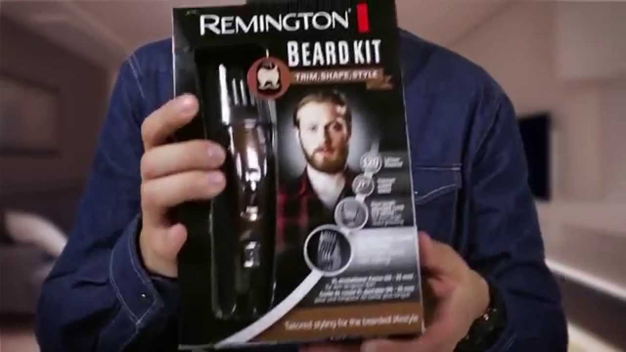 unboxing zestaw beard kit mark remington mb4045 youtube. Black Bedroom Furniture Sets. Home Design Ideas