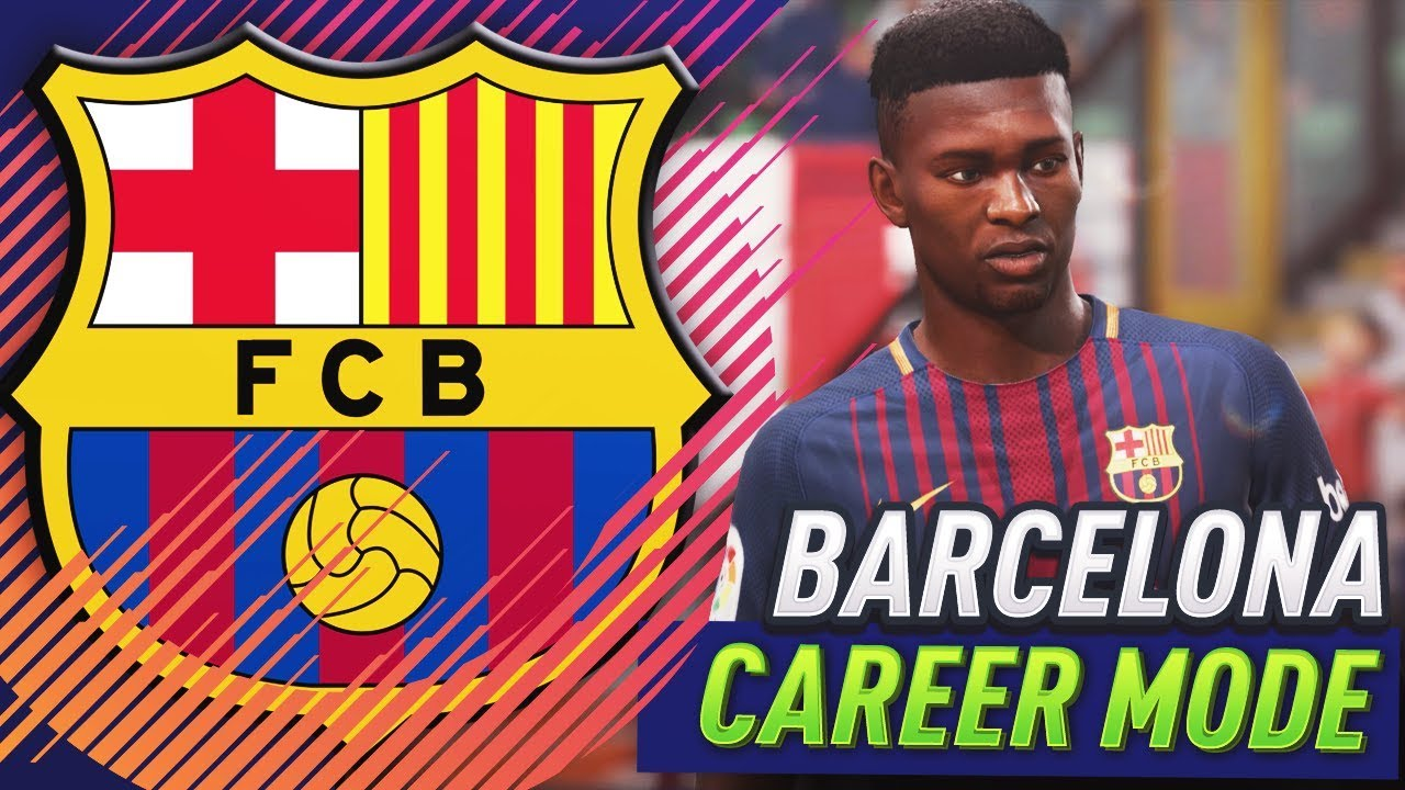 FIFA 18 BARCELONA CAREER MODE!!! #1 - YouTube