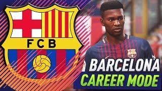 FIFA 18 BARCELONA CAREER MODE!!! #1