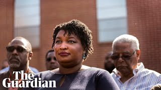 Stacey Abrams v Brian Kemp: inside the bitter battle for Georgia