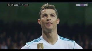ملخص مباراة ريال مدريد وريال سوسيداد 5 2   هاتريك رونالدو قبل موقعه باريس   الدوري الاسباني