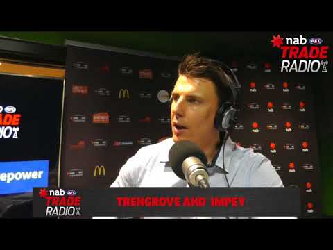NAB AFL Trade Radio: Trengove and Impey