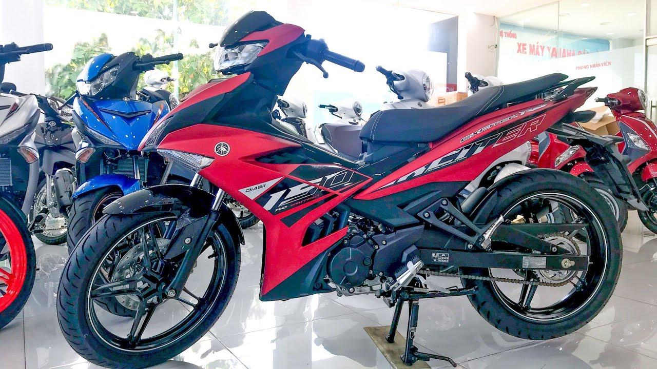 Giá Xe Exciter 150 Đỏ Nhám Mới Nhất 2021   Yamaha Exciter 150 Matte Red   Quang Ya