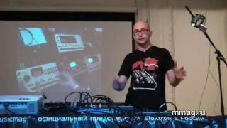 mmag.ru: Elektron Fest SPb 2011 Part 1 - Nikolay LEM presents Elektron Machinedrum SPS-1UW+ MKII