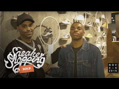 Vince Staples Goes Sneaker Shopping at ComplexCon