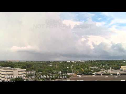 Amazing Time Lapse Footage from Key West, FL as the storms move in
