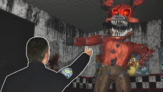 ESCAPE FROM NEW FIVE NIGHT'S AT FREDDYS! - Garry's Mod Multiplayer Gameplay - FNAF Gmod Game Mode