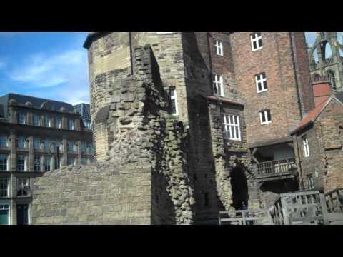 Newcastle's black gate