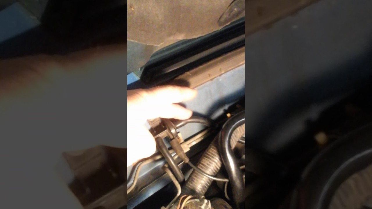 1989 Mustang Heater/AC Vacuum Line Replacement