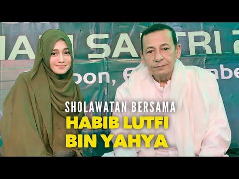 Dahsyat Jutaan Orang Bersholawat Bersama Habib Lutfi Bin Yahya Dan Veve Zulfikar Basyaiban