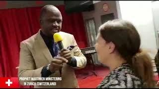 Prophecy & Deliverance in Zurich(Switzerland) - Prophet Martinien