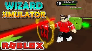 NEW POWER and WON a POWERFUL PET-Wizard Simulator Roblox #02