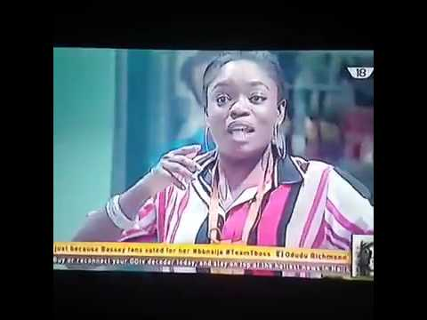 The Moment Bisola Sings For Don Jazzy Big Brother Naija
