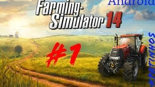 Farming Simulator 14 Android Gameplay #1 Vamos Lá Ceifar!! (PT)