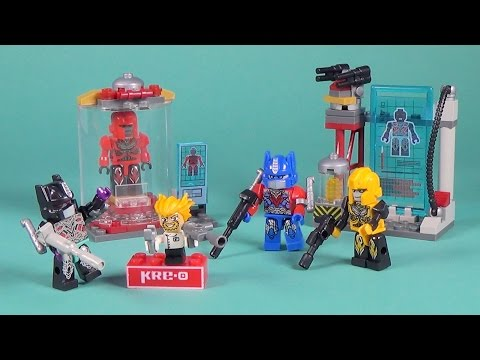 Kreo Transformers Decepticon Replicator Playset Build Review
