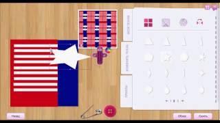 Как сделать футболку с флагом США!видеоурок
