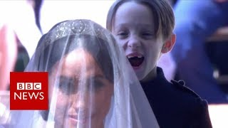 Royal Wedding: The kids who nearly stole the show - BBC News