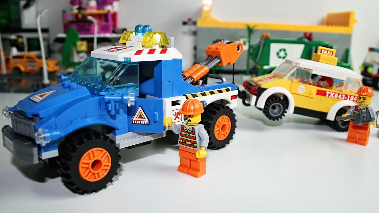 Конструктор игрушечные машины