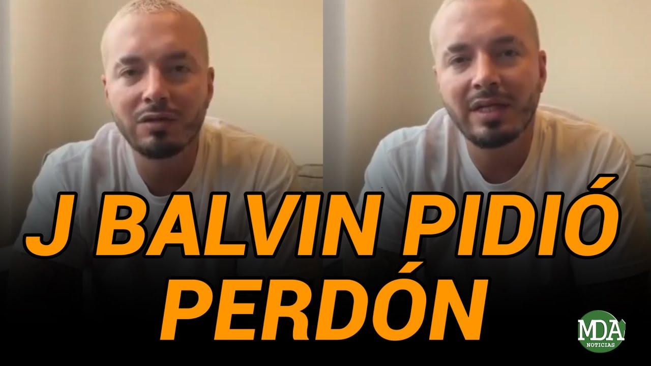 """J BALVIN PIDIÓ PERDÓN y contó que él ELIMINÓ el VIDEO de """"PERRA"""" de Youtube"""