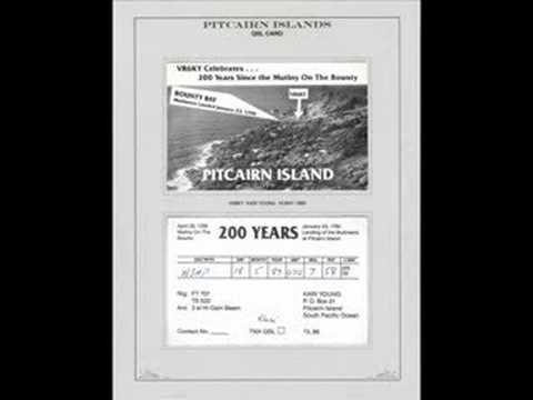 PITCAIRN ISLAND RADIO AND QSL