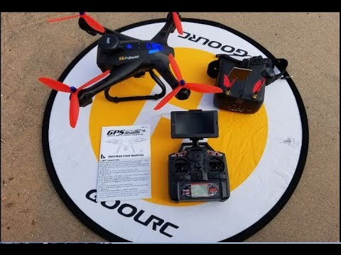 X183 Duplo GPS 5 8ghz FPV Unboxing Review