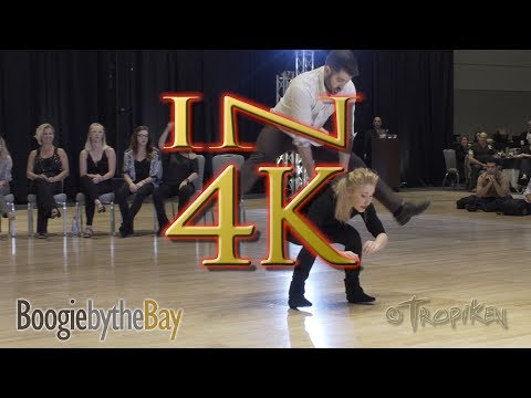 Ben Morris & Victoria Henk  2nd Place  2017 Boogie by the Bay BbB Champions Jack & Jill  IN 4K