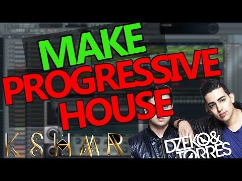 HOW TO MAKE PROGRESSIVE HOUSE - FL Studio Tutorial
