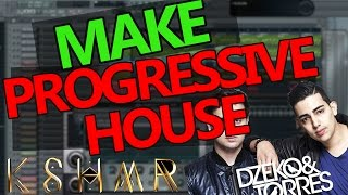 HOW TO MAKE PROGRESSIVE HOUSE - FL Studio Tutorial