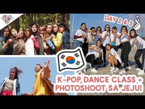 K-POP DANCE LESSON?! NAGPHOTOSHOOT SA JEJU ISLAND | JEJU VLOG PART 2